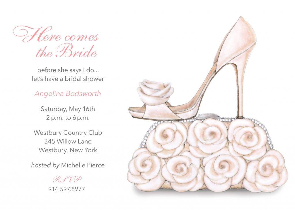 bride shoe purse | Ann Scott, Inc.