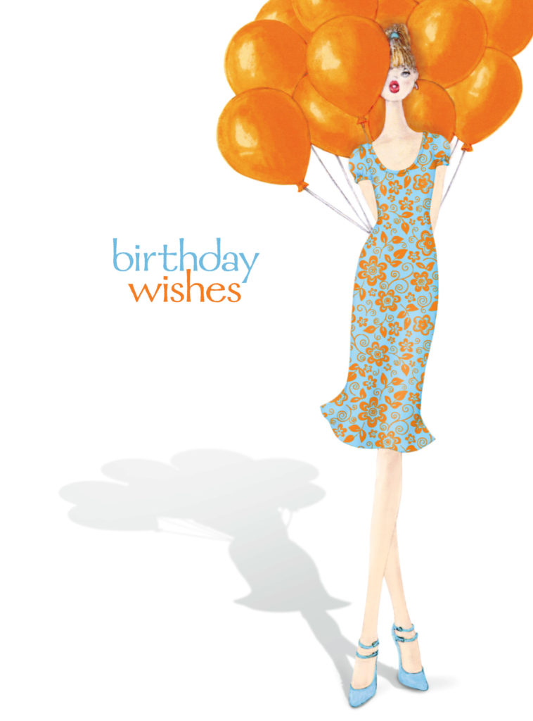 Card Couture Birthday Wishes Balloons